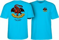 Powell Peralta Steve Caballero RED DRAGON II Skateboard Shirt TURQUOISE XL