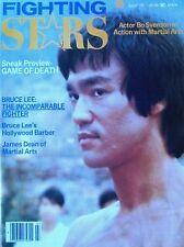7/78 FIGHTING STAR BRUCE LEE JAMES DEAN BLACK BELT KARATE KUNG FU MARTIAL ARTS