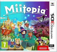 MIITOPIA NINTENDO 3DS 2DS BRAND NEW NOT SEALED