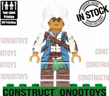 Connor Kenway lego Custom PAD UV PRINTED Minifigure Connor Assassin's Creed