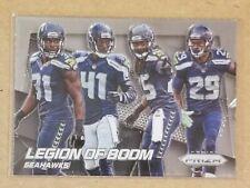 2014 Panini Prizm #200 Seattle Seahawks LEGION OF BOOM Sherman Thomas Chancellor