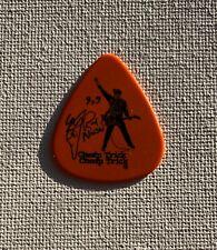 Cheap Trick - Rick Nielsen Signature 2010 Tour Guitar Pick Orange & Black