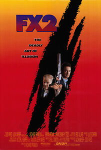 F/X2 (1991) original movie poster - single-sided - rolled