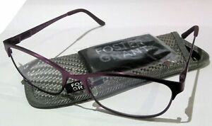 👓Foster Grant Reading Glasses👓  - (PINK) with case and cloth - NEW MAGNIVISION