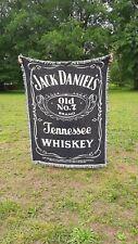 Jack Daniels woven throw