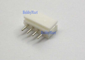 5264 2.5mm 4-Pin Male, PCB Straight Socket Connector plug for phone battery x 50