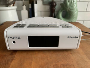 PURE Siesta DAB Digital Clock Radio White