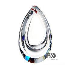 H&D Crystal Clear Chandelier Glass Lamp Prisms Parts Hanging Drops Pendants 38mm