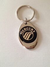Mercury Keychain Chrome Metal  Key Chain