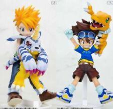 Agumon+Ishida Yamato Matt & Digimon Adventure Yagami Taichi & Gabumon PVC Figure
