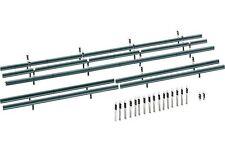 Faller 180535 HO 1/87 Glissières de protection et 32 bornes 1600 mm