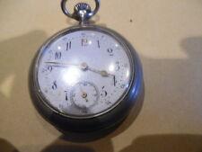 belle montre  a gousset ancienne a remontoir + boite