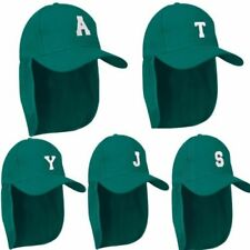 Chapeaux vert pour garçon de 2 à 16 ans en 100% coton