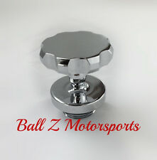 99-07-08-16-17 GSXR 600/750/1000 SV TL Hayabusa Chrome Ball Cut Huge 3D Oil Cap