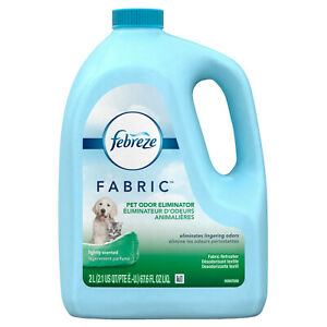 Febreze FABRIC Refresher, Pet Odor Eliminator Refill, 1 Count, 67.62 oz, carpets