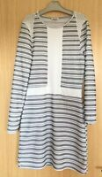 River Island Dress 10 Stretchy Fit & Flare Work Fitted Career Modest Occasion