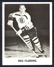 1965 COCA-COLA COKE REG FLEMING EX-NM BOSTON BRUINS  HOCKEY CARD