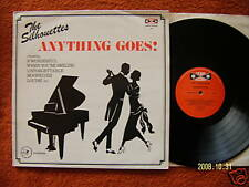 The silhouettes-Anything Goes? rare uk LP top