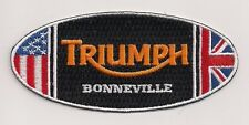 Triumph Motorcycles Bonneville oval patch. 4 inch. NEW