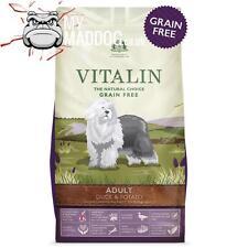 12kg VITALIN NATURALS DUCK & POTATO LARGE BREED DOG FOOD HYPOALLERGENIC