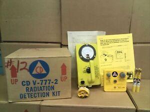 CIVIL DEFENSE CD V-777-2 RADIATION DETECTION KIT CDV-715,-742(2),&-750 (12)