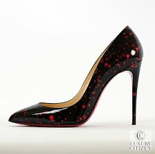 NEW AUTHENTIC CHRISTIAN LOUBOUTIN PIGALLE FOLLIES 100 Pollock Heels 38.5 8.5