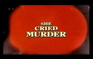 She Cried Murder - 1973 Stars Telly Savalas, Lynda Day George (UK/Euro disc)