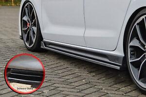 CUP Seitenschweller Sideskirts ABS für Hyundai I30N + Performance schwarz glanz