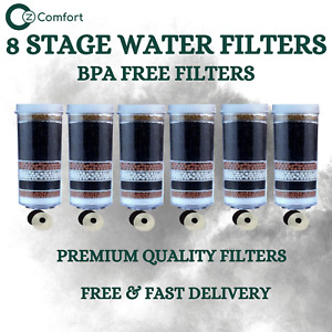 Aimex 7 8 Stage Water Filter For Water Purifier Charcoal Activated KDF 6 Filters