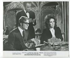 Elizabeth Taylor & Michael Caine 1971 Original Photo  X, Y Zee & Company J5383