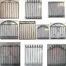 Wrought Iron Pedestrian Garden Gates