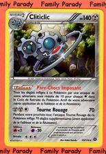 Cliticlic HOLO 140pv 73/114 XY Offensive Vapeur Carte Pokemon Rare neuve fr