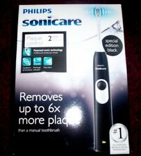 PHILIPS SONICARE Plaque Control Rechargeable Toothbrush (HX6211/07 ~ Black)