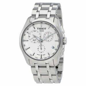 Tissot Swiss Made T-Trend Couturier GMT Chronograph Men's Stainless Steel Watch