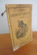1887 Ayer's AMERICAN ALMANAC