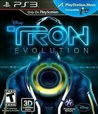 Disney's TRON - EVOLUTION rare PLAYSTATION 3 Game PS3 Sci-Fi Complete vg