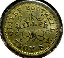 1863 Civil War Token Oliver Boutwell Miller Troy N.Y.