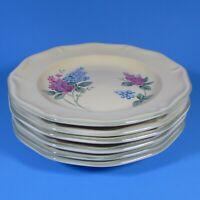 Fairfield Stoneware LILAC FIELDS Set of 6 Salad Plates Plate