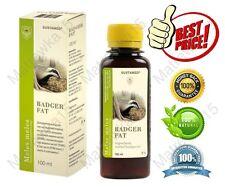 Badger fat Natural 100%  (3,38 oz / 100 ml / 0.10 qt)