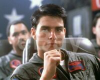 Top Gun (1986) Tom Cruise 10x8 Photo