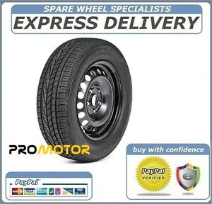 "15"" FULL SIZE STEEL SPARE WHEEL AND TYRE 185/60R15 FITS SKODA FABIA 2007-2018"
