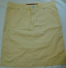 Barbara Lesser Size 6 Womens Ladies Skirt Yellow Pencil M Medium All Categories