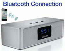 Boytone BT-88CB FM Alarm Clock Radio Speaker SD /BLUETOOTH/AUX/USB Connectivity