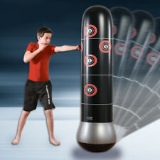 Adult Standing Punching Bag Inflatable Stand Kick Martial Training With Air Pump