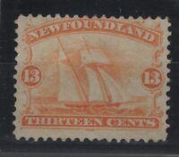 G129751/ NEWFOUNDLAND / CANADA / SG # 29 MINT MH THIN PAPER – CV 155 $