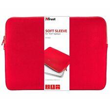 """Maletin portatil Trust 21250 primo Soft sleeve 15.6"""" rojo"""