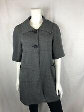 Tria short sleeve grey coat - Size S