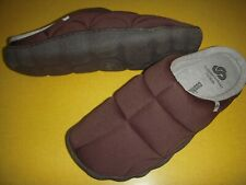 Clarks Step Rest Clogs CLOUDSTEPPERS Jersey Slippers Men's 9 M Brown EUR 42