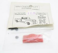 1950 Chevrolet Coupe Red Bruce Richardson's Cars N Scale Resin Kit