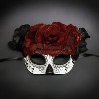 Day of the Dead Mask - Dia de los Muertos Masquerade Mask for Women M3152